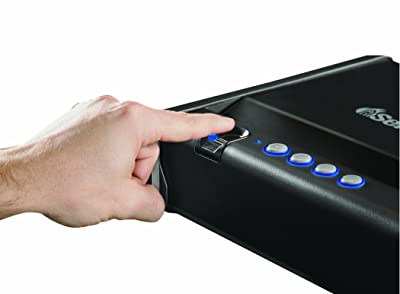 SentrySafe Pistol Safe, Quick Access Biometric Gun Safe