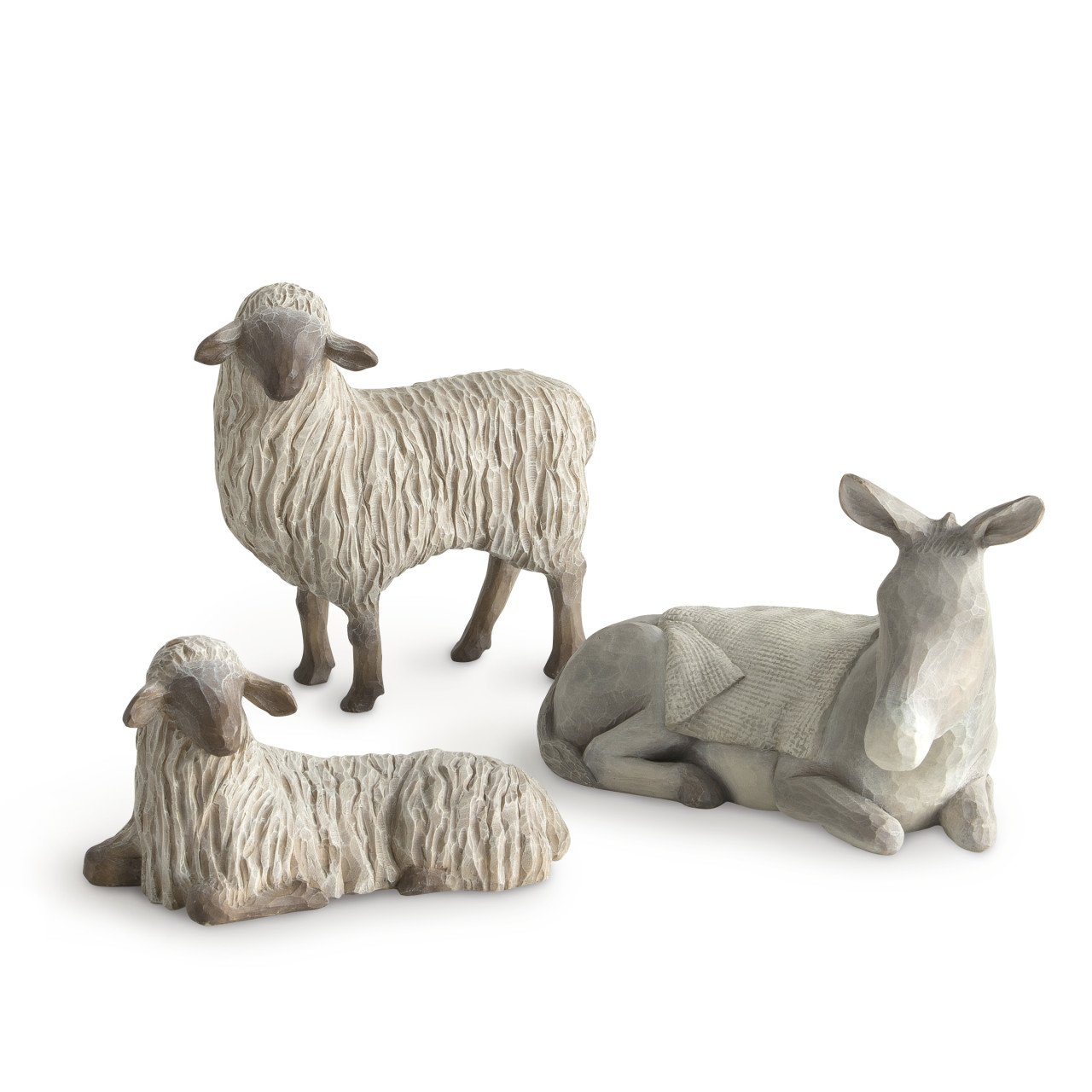 Willow Tree Nativity, Gentle Animals of The Stable by Willow Tree