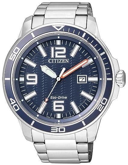 Solar Reloj hombre Citizen Buceo Efecto eco Drive Sports Reloj de hombre aw1520 – 51,