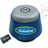 "Portable speaker + 3 hrs of cat calming music by ""Through a Cat's Ear"" 