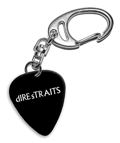 Dire Straits Mark Knopfler Band Logo Llavero de púa de ...