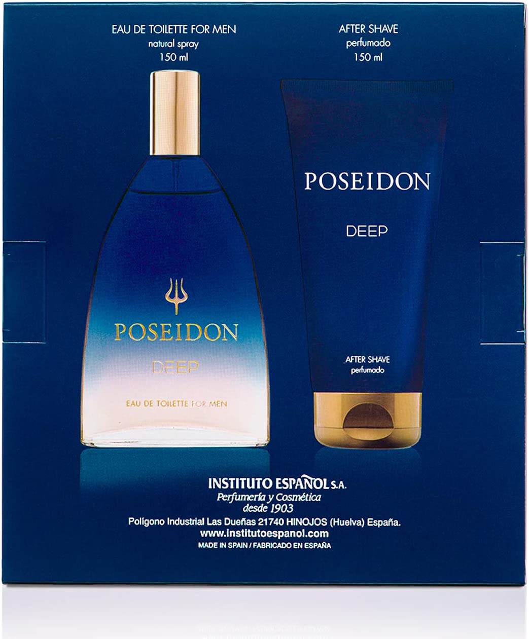Instituto Español Pack Perfume Hombre Poseidon Deep Perfume y After Shave (13517)