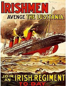 Wee Blue Coo War WWI UK Irish Men Lusitania Unframed Wall Art Print Poster Home Decor Premium