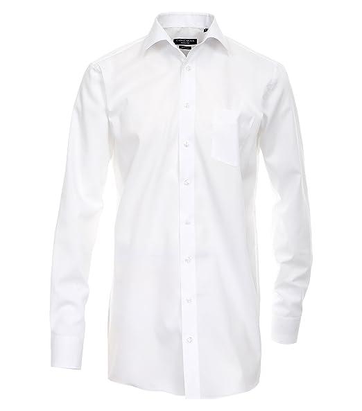 Casa Moda Hemd Comfort Fit Button Down Kragen kariert extra langer 72cm Arm