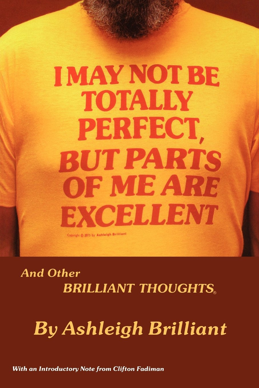 I May Not Be Totally Perfect, But Parts of Me Are Excellent pdf epub