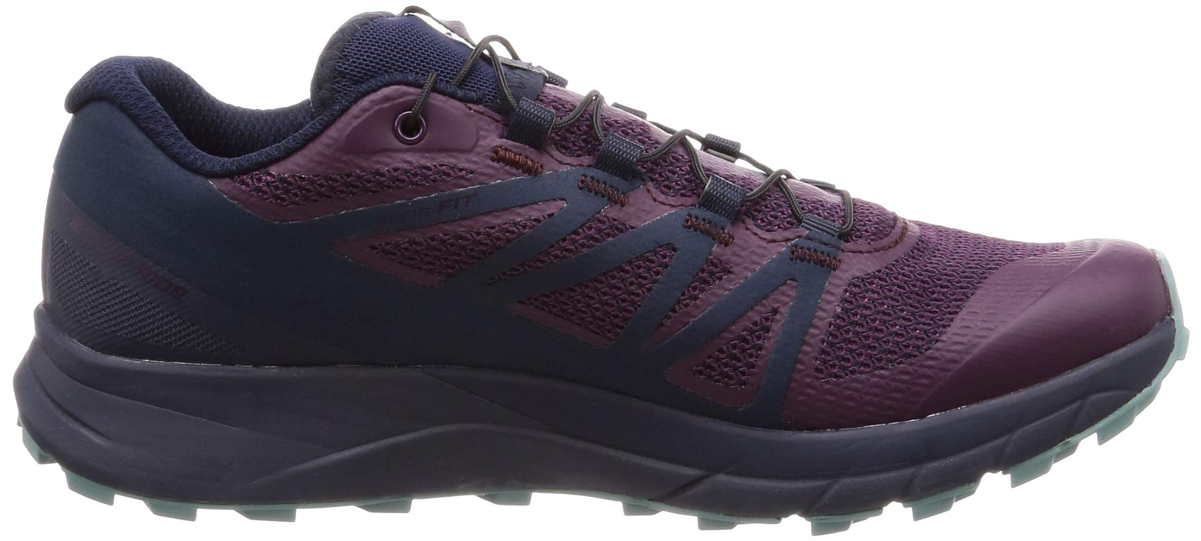 Salomon Sense Ride Running Shoe - Women's Potent Purple/Graphite/Navy Blazer 6 by Salomon (Image #6)