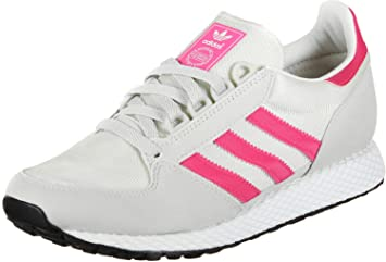 san francisco c7d5f 9f683 adidas Forest Grove J W Chaussures Chalk White Real Pink