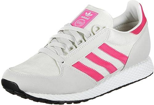 new style 9c0d9 4d561 adidas Forest Grove J W Scarpa Chalk WhiteReal Pink Amazon.it Scarpe e  borse