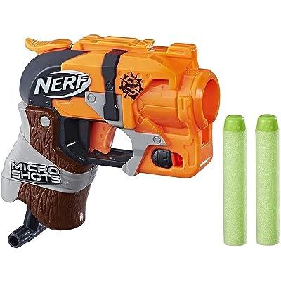 Nerf MicroShots Zombie Strike Hammershot: Toys & Games