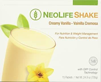 Neolifeshake Creamy Vanilla Box of 15 Packets