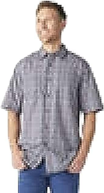 Dickies Mens WS525 Yarn Dyed Plaid Short Sleeve Shirt Short Sleeve Button Down Shirt - Multi