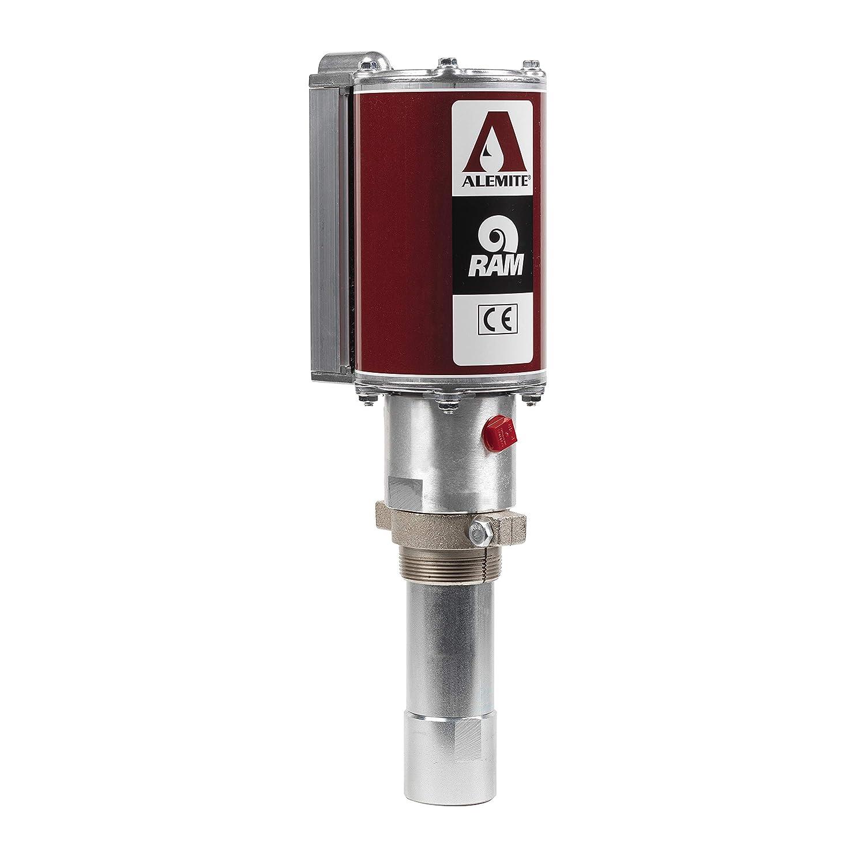 "Alemite 9968 Medium-Pressure PML Fluid Dispensing Pump, Stub, Appropriate Downtube Should Be Added, 5:1 Ratio, Delivery 7 gal/minute, 1-1/2"" Female NPTF Inlet x 1/2"" Female NPTF"