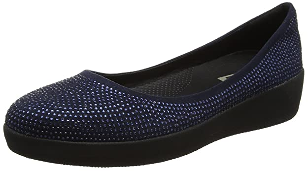 Fitflop »SUPERBENDY« Ballerina, blau, navy