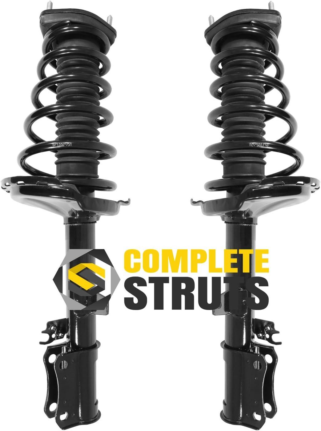 Pair Rear Quick Complete Struts /& Coil Spring Assemblies Compatible with 2004-2006 Lexus RX330 FWD