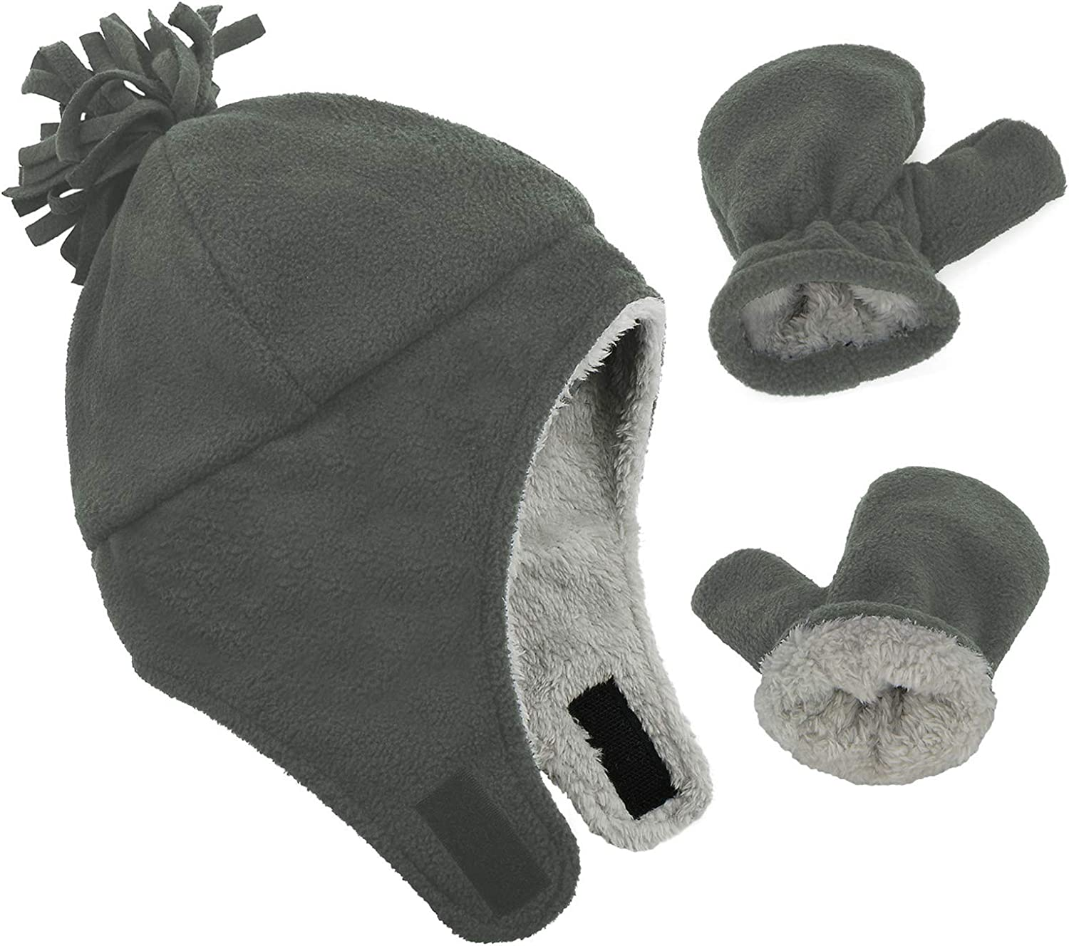 American Trends Baby Hats Baby Mittens Newborn Baby Beanie Gifts for 0-6 Months Fall Winter Cap