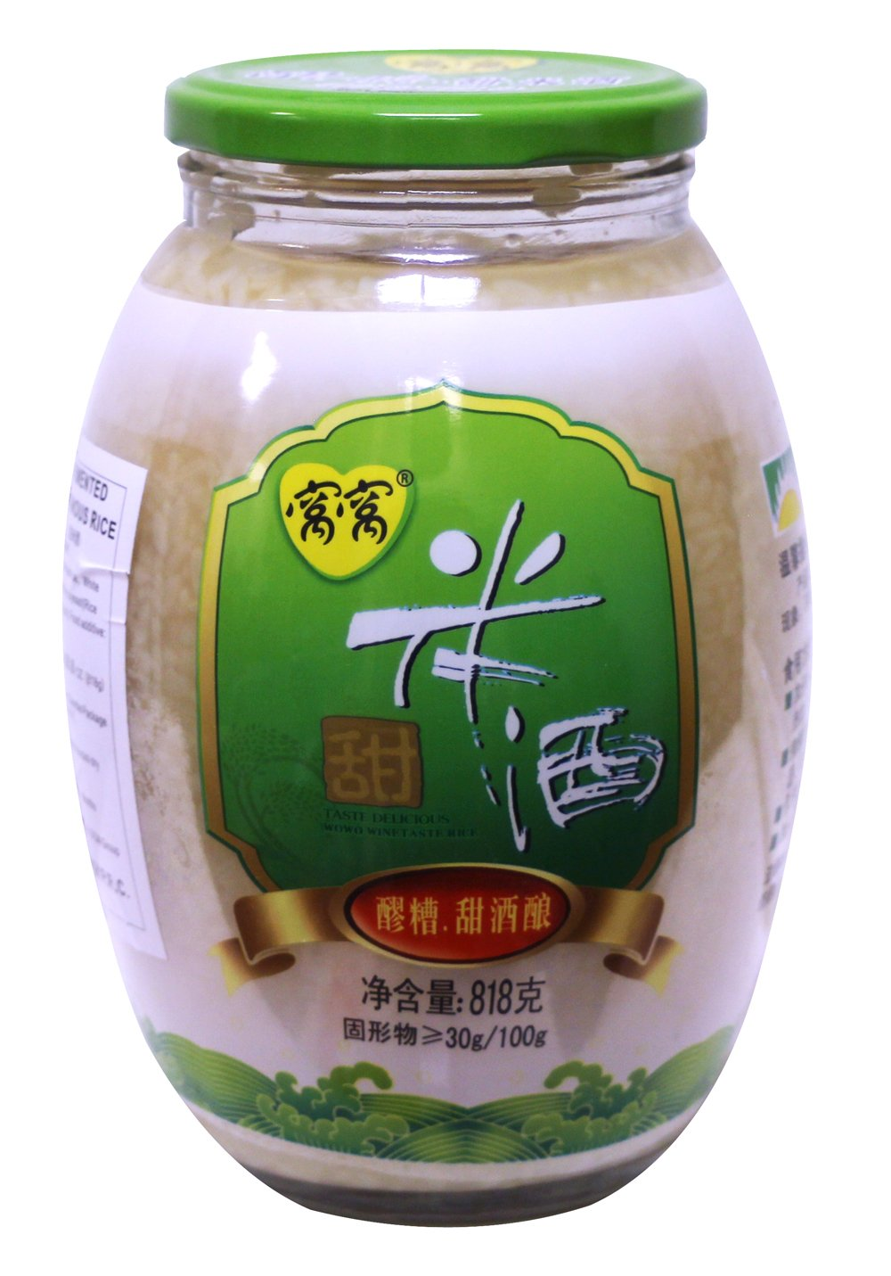 窝窝米酒 甜酒酿 Wowo Fermented Glutinous Rice Drink 818g