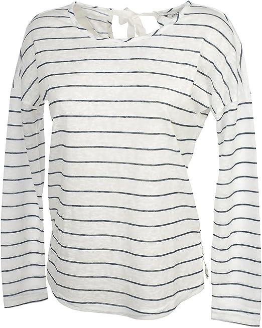 TALLA 36 (Talla fabricante: S). Only Onlmarina L/S Bow Top ESS Camisa Manga Larga para Mujer