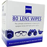 Zeiss Pre Moistened Lens Cleaning Wipes 80 Count