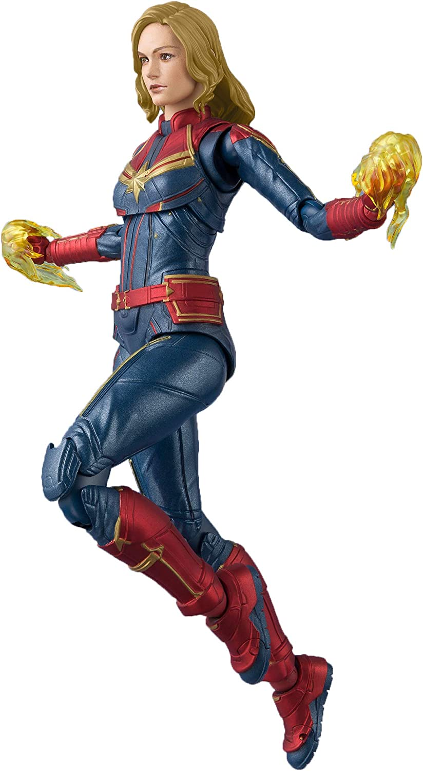 Bandai S.H. Figuarts Captain Marvel Captain Marvel Figure 150mm ...