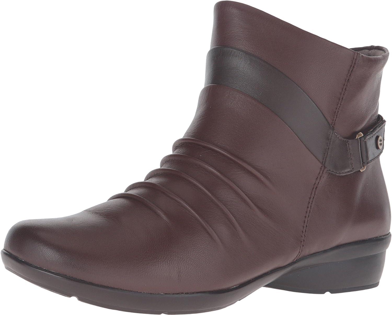 Naturalizer Women's Caldo Boot B01BLWSGKQ 6 N US|Bridal Brown/Oxford Brown Leather