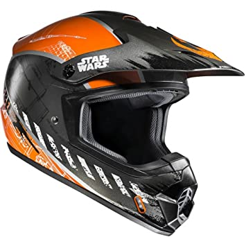 CX2XWS - HJC CS-MX II Rebel X-Wing Star Wars Motocross Helmet S
