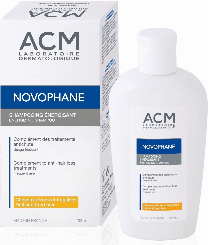 Acm laboratoire novophane energisant anti hair loss treatment shampoo 200ml Skin Beauty Gift
