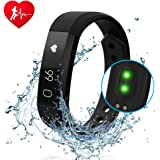 Amazon.com: ID115 With Heart Rate Monitor, Bluetooth Fitness ...