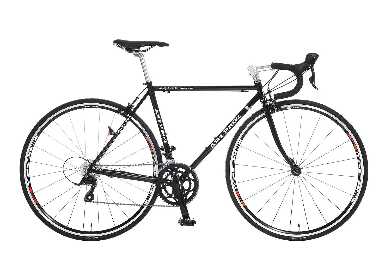 Artcyclestudio(アートサイクルスタジオ) ロードバイク s770 B01BRCTEZG  ブラック 500