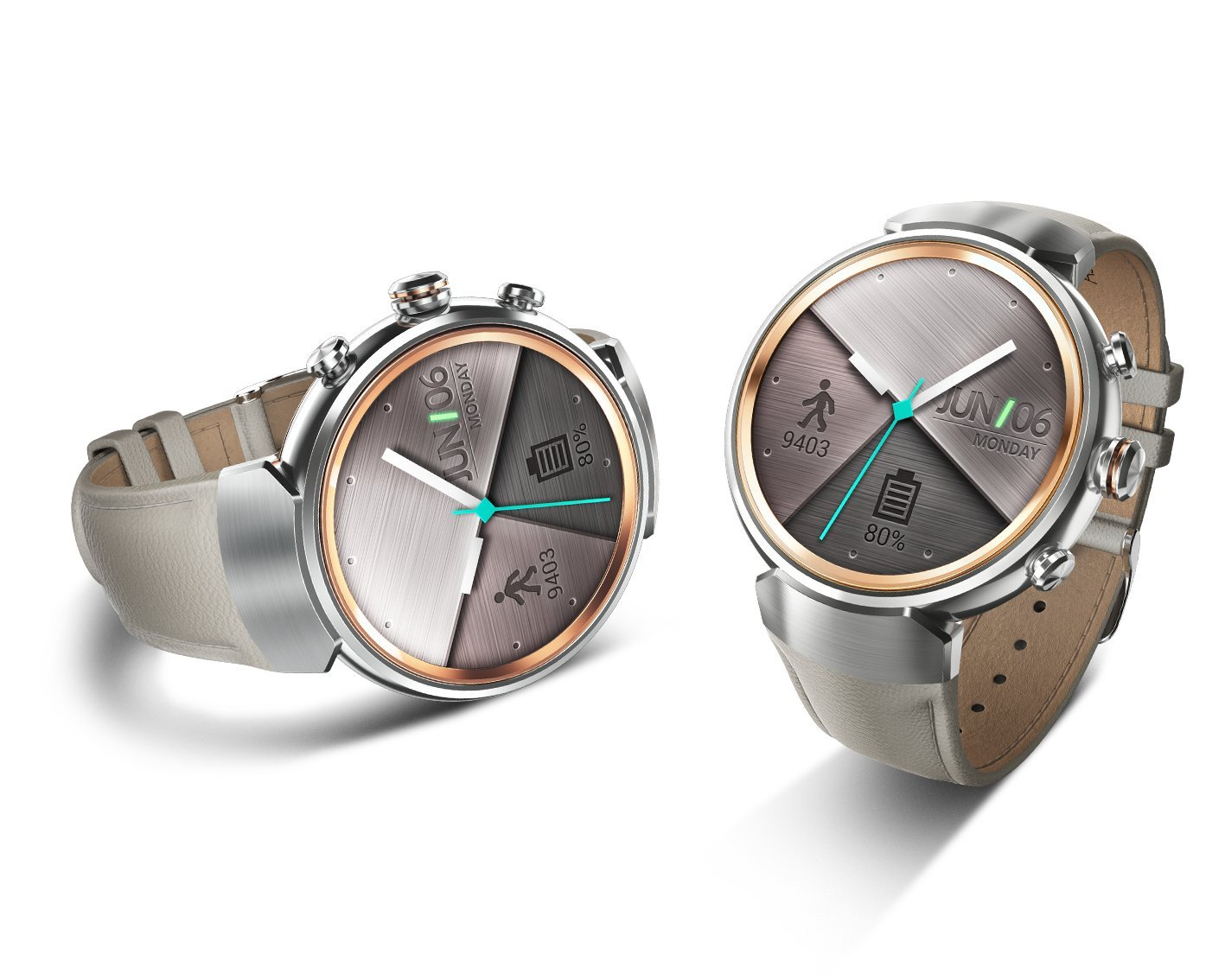 Asus Zenwatch 3 Leather Beige Strap: Amazon.es: Electrónica