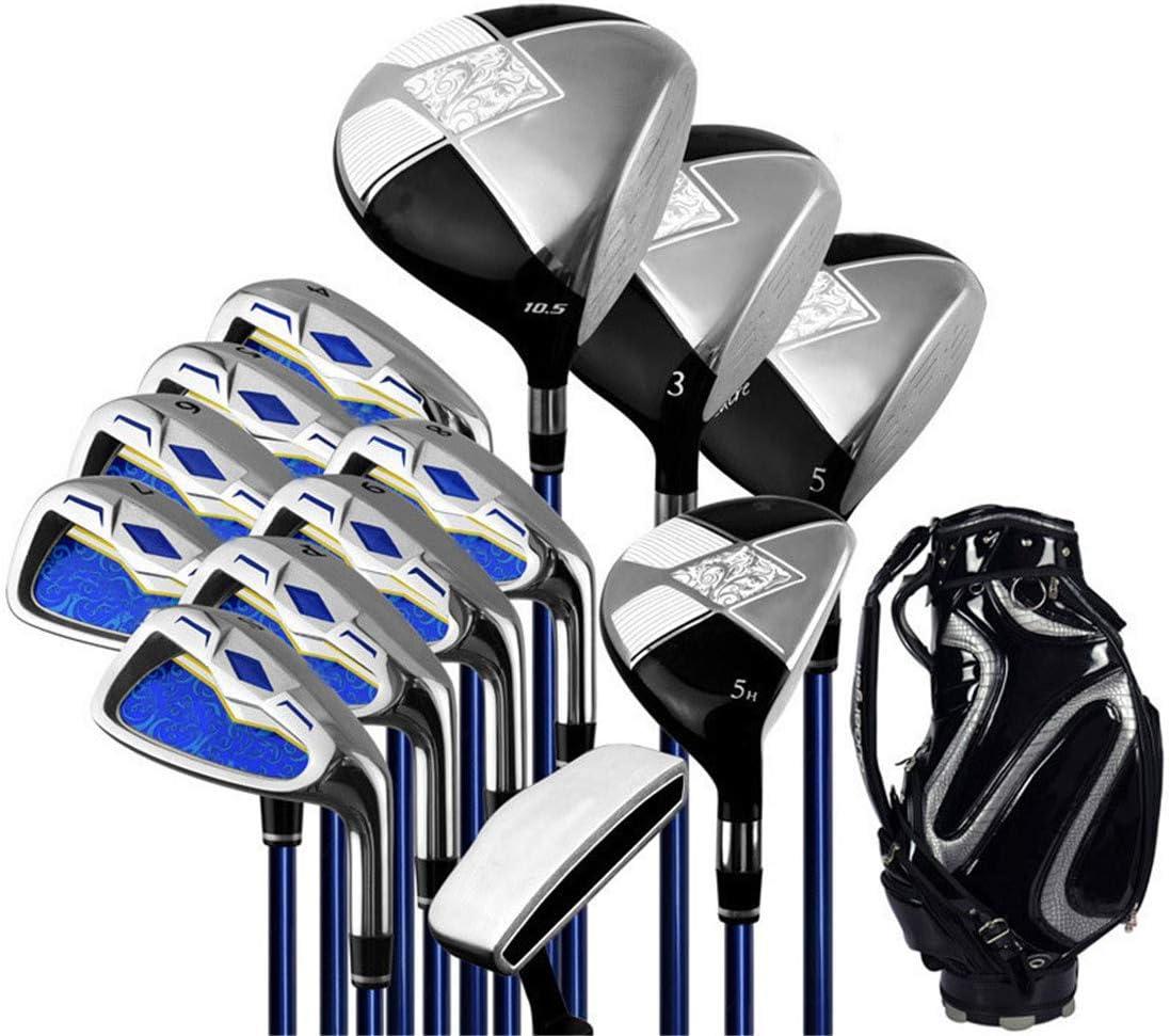 メンズコンプリートゴルフセットには オールインワンセット クラブ13本モデル カーボン 初心者(右利き用) 黒-carbon