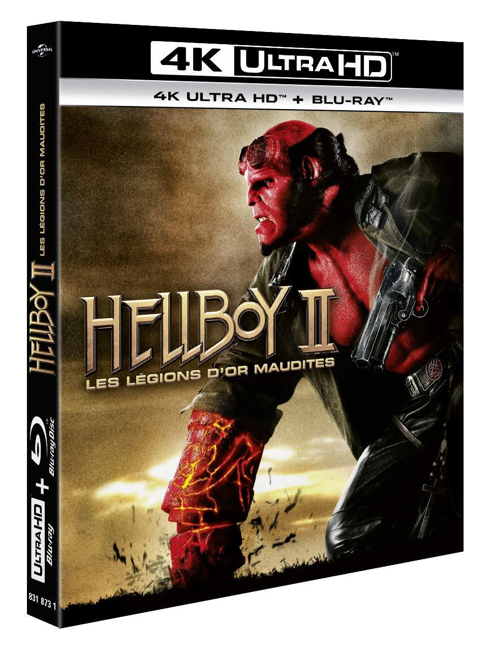 Hellboy II, Les légions dor maudites Francia Blu-ray: Amazon ...