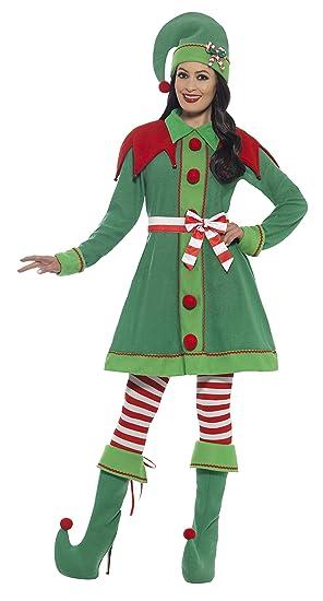 Smiffy s 46129l disfraz de elfo de la mujer (tamaño grande ...