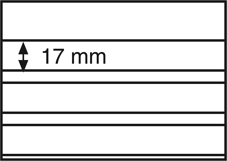 Leuchtturm 329963 Fichas clasificadoras 148x105mm 3 Band.transp.Hoja prot.cart/ó