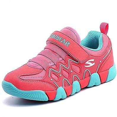 Chaussures de sport respirant chaussures de maillage garçons de chaussures pour enfants réseau, Green 26