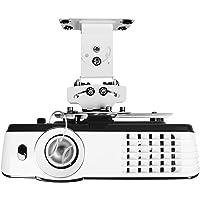 Duronic PB05XB Beamer Halterung/Projektor Halterung/Universal Wandhalterung/Halterung für Video-Projektor/drehbar und schwenkbar/Heimkino/Traglast bis zu 13,6 kg