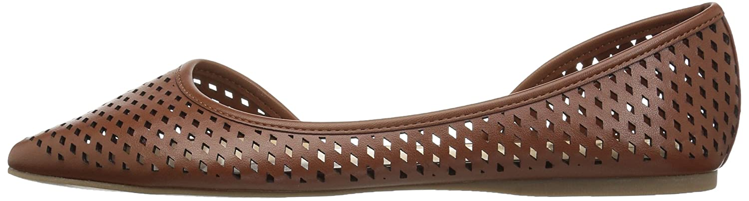 Callisto Women's Swiftye Pointed Toe Flat B06XTCTV6V 8.5 B(M) US|Tan