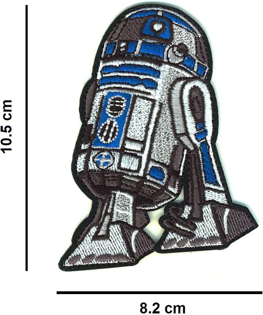 Iron-on or Sewing Patch to Customizie your Clothes Scrapbooking Hats DIY Set of 5 Star Wars Iron-on Patches Bags