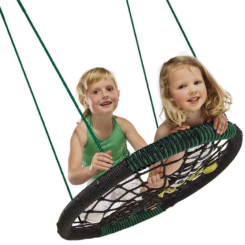 Swing-N-Slide WS 3050 Monster Web Swing, 34'' Long x 4.5'' Wide x 42'' high, Black by Swing-N-Slide