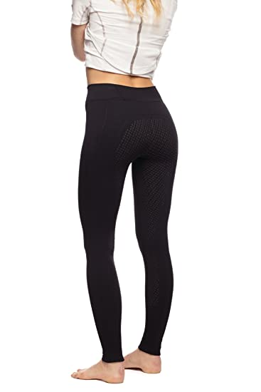04beaf1e61bfe Goode Rider Bodysculpting Seamless Tights Full Seat Black X-Small
