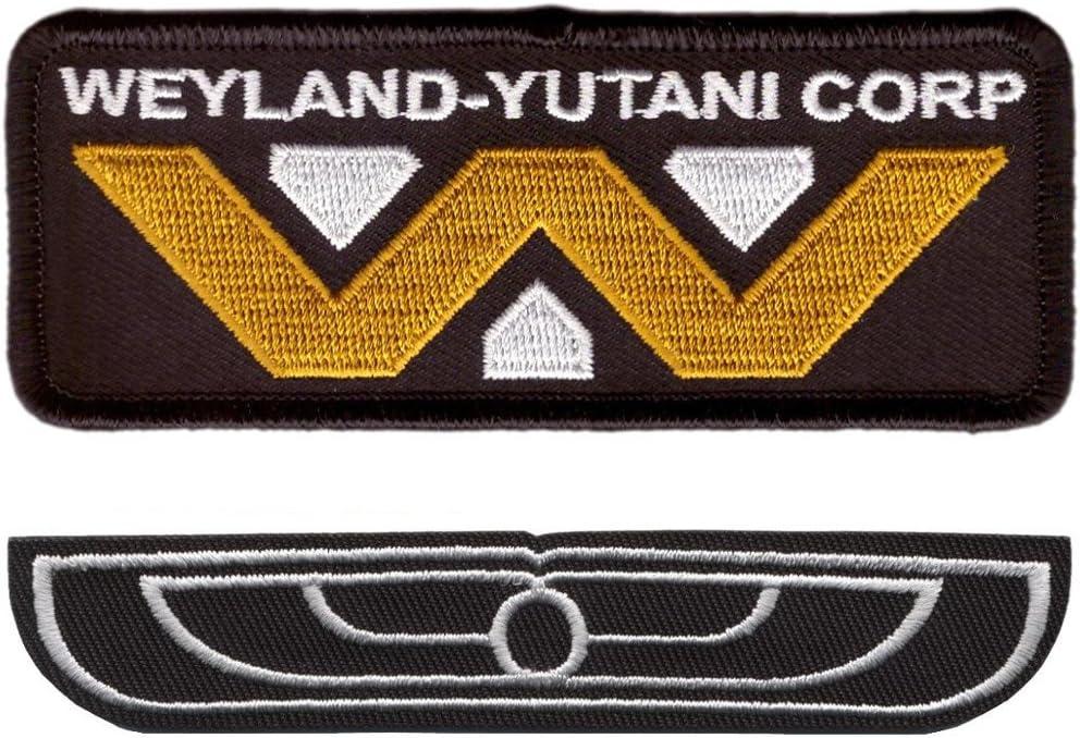 Titan One Europe Conjunto de 3 Parches Nostromo USCSS Uniforme Tripulaci/ón Cosplay