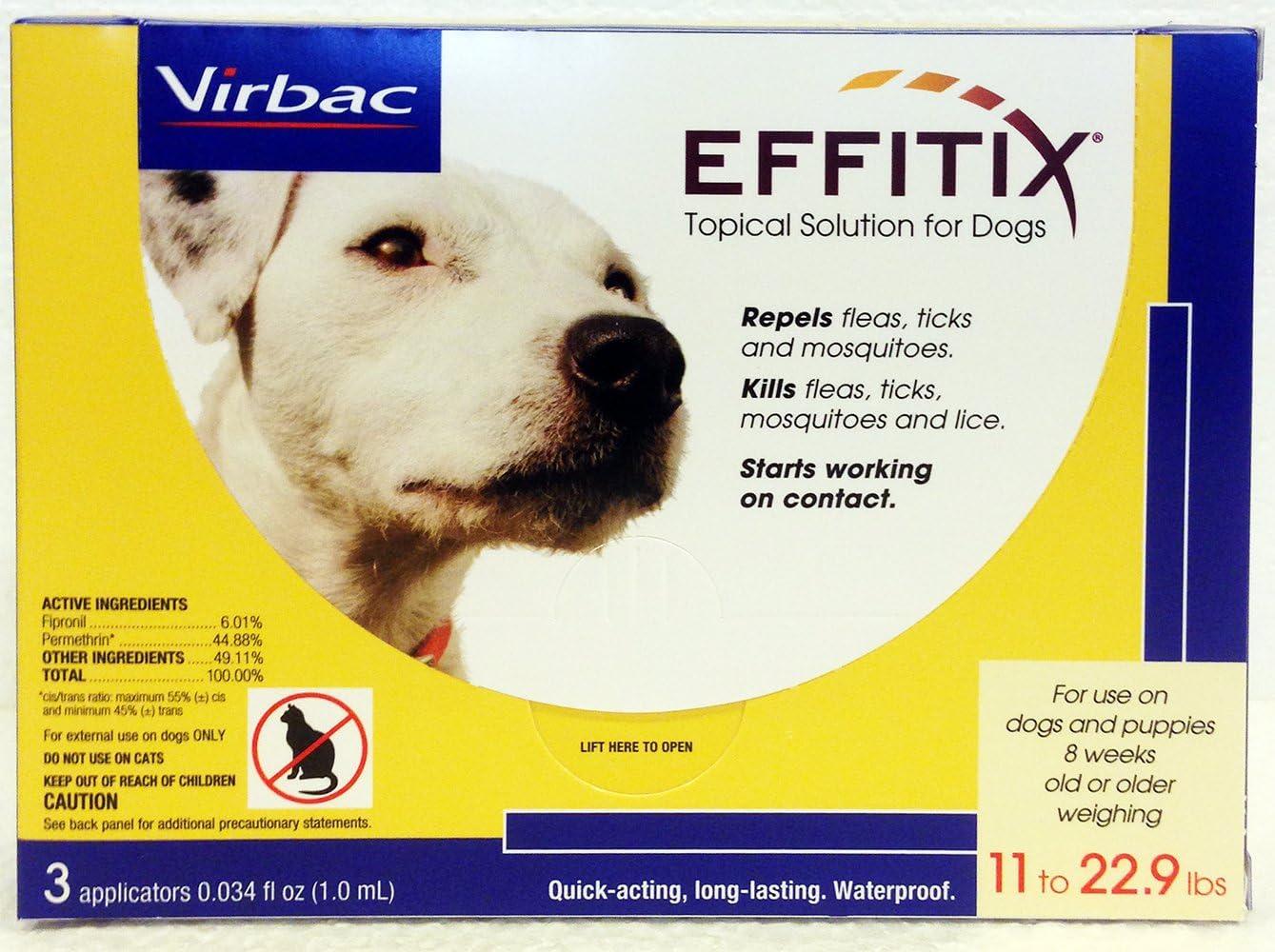 Virbac Effitix Flea/ Tick