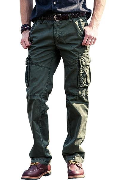 08d1569bef950 INFLATION Men's Cargo Pants Work Trousers Combat Pants Confortable Cargo  Pants Various Sizes & Colors