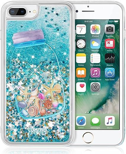 iPhone 7 Plus 6 Plus Cascade liquide Coque, iPhone 6s Plus Coque Tenetech Cascade Fusion liquide étincelant Quicksand Coque pour Apple iPhone 7 Plus, ...