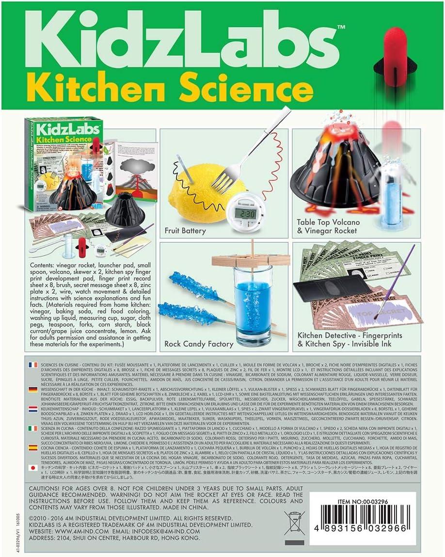 Great Gizmo Kidz Labs - Ciencia Cocina: Amazon.es: Juguetes y juegos