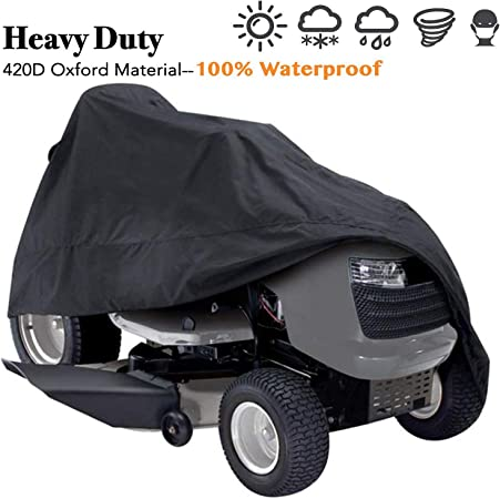 """Brand New Fits Decks up to 54/"""" Lunatic Lawn Tractor Cover Garden Tractor"""