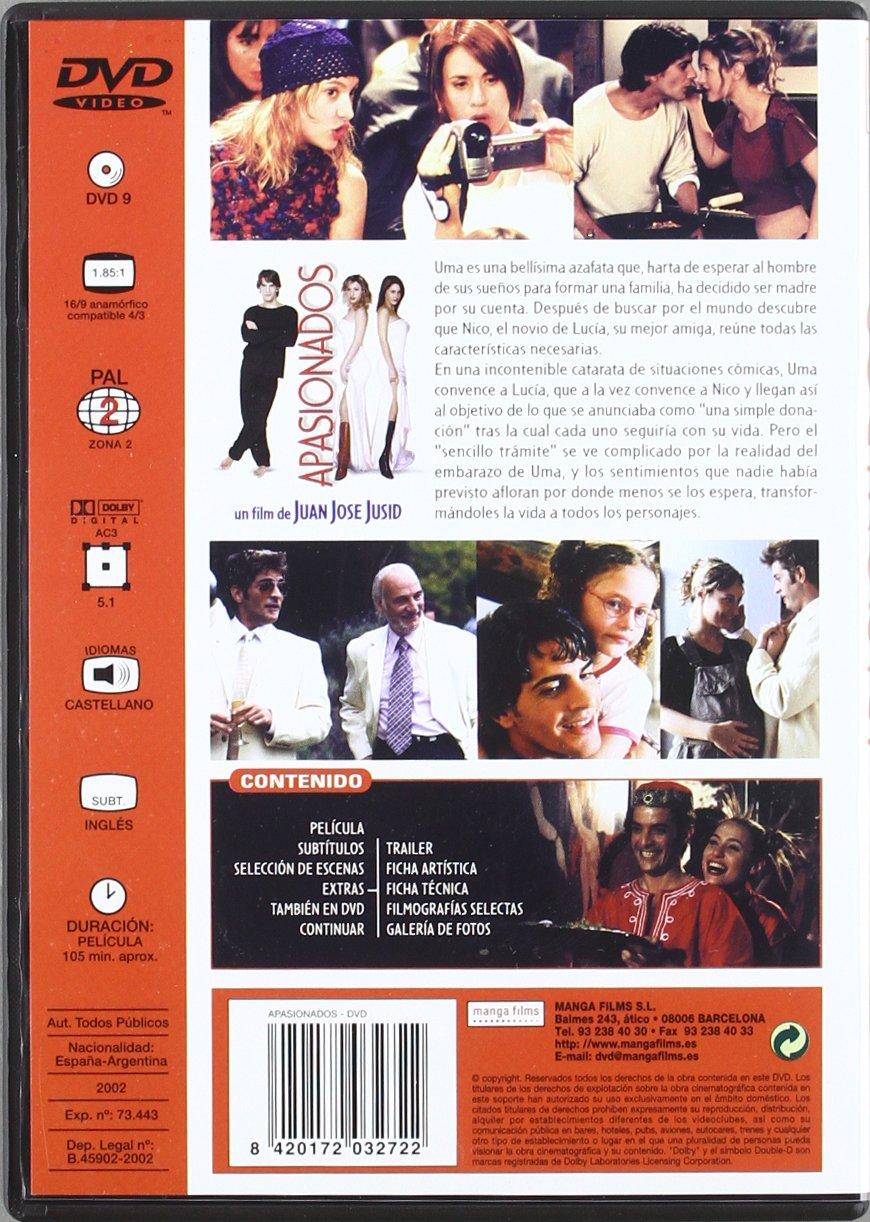 Apasionados [DVD]: Amazon.es: Pablo Echarri, Hector Alterio, Pablo Rago, Diego Perez, Adrian Yospe, Laura Oliva, Nancy Duplaa, Natalia Verbeke, ...