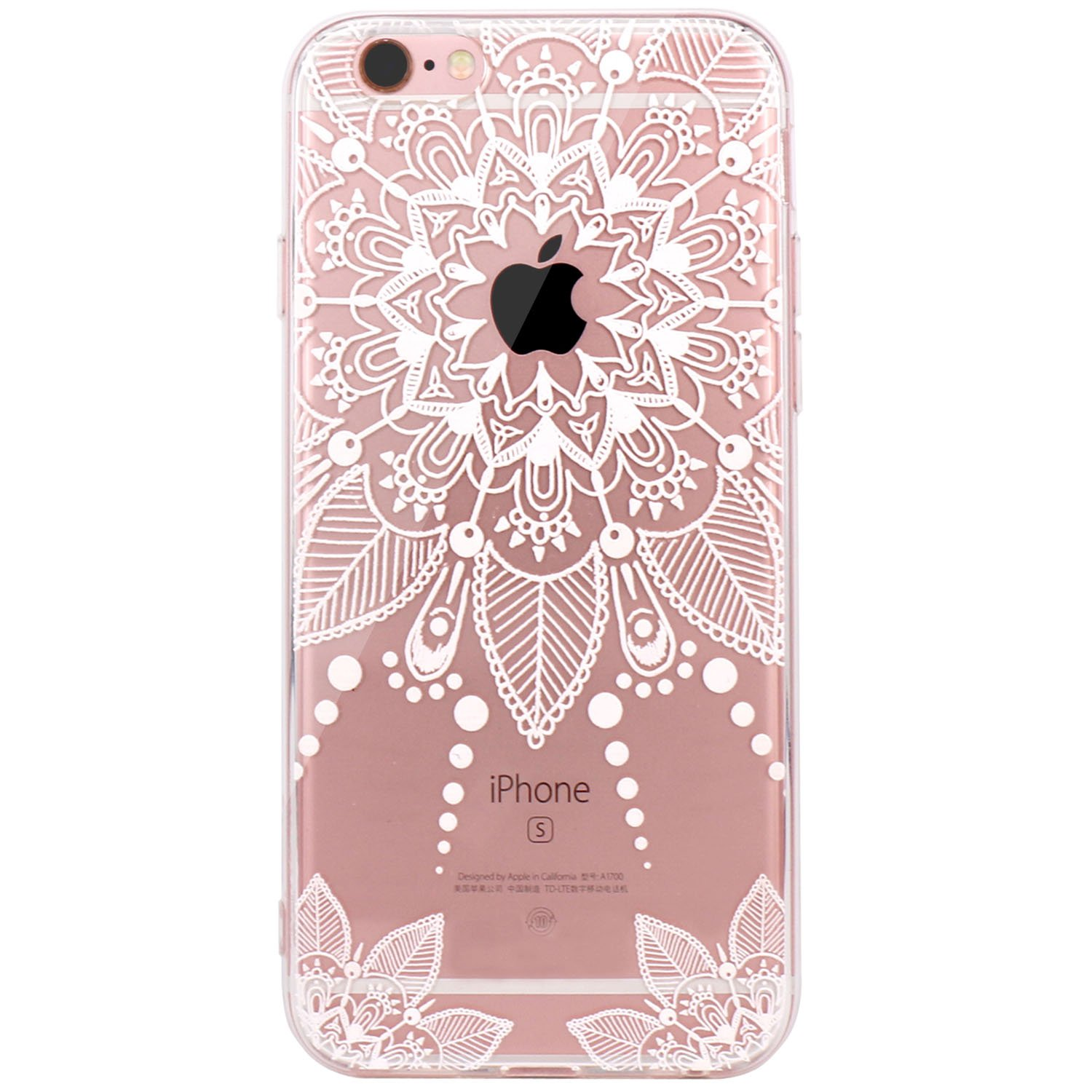 JIAXIUFEN iPhone 6 Funda, Funda de Silicona Suave Case Cover ...