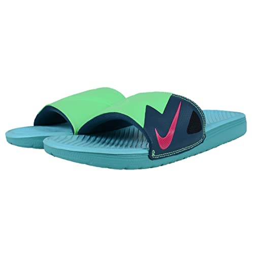 newest efef7 9ccd0 Nike Solarsoft KD Men Slide Sandals Vivid Blue Black Total Orange  631402-480 Nightshade Vivid Pink Light Lucid Green 13 D(M) US  Amazon.in   Shoes   Handbags