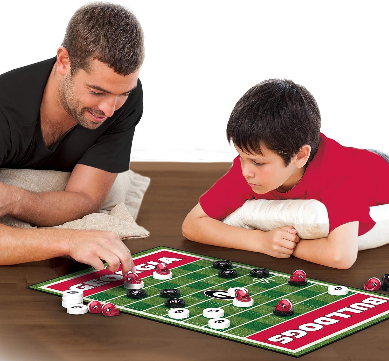 MasterPieces NCAA Checkers Board Game