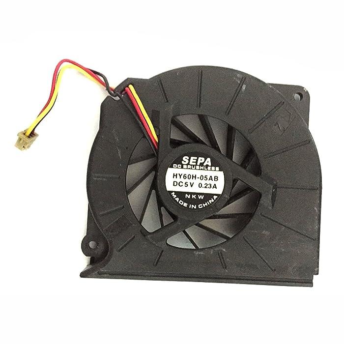 iiFix New CPU Cooling Fan Cooler For Fujitsu LifeBook S7110 A3110 A3130 A6010 A6120 T4215 T5500 T2050, P/N:MCF-S6055AM05